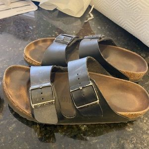 Black Arizona Birkenstock size 39